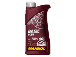 Син. масло для переднепр. авто.Mannol Basic Plus GL4 75W90  1л