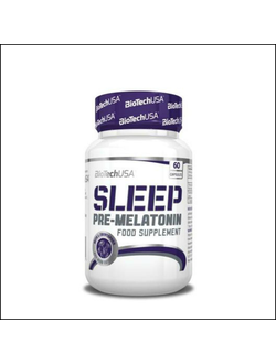 Прекурсор мелатонина BioTech USA Sleep Pre-Melatonin 60 caps