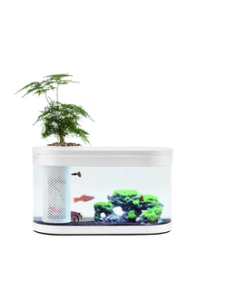 Акваферма аквариум Xiaomi Geometry Eco Fish Tank Garden