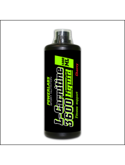 Карнитин POWERLABS L-carnitine 3600 liquid 1l