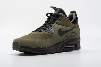 Nike Air Max 90 ES SneakerBoot Хаки (41-45) Арт. 105FA