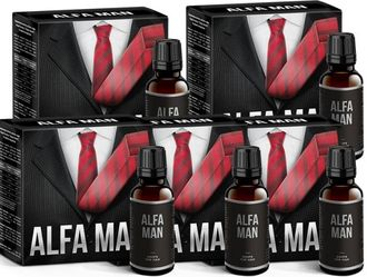 Alfa Man biologically active food supplement (5 pieces).