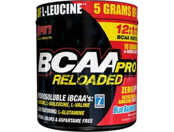 (SAN) BCAA-Pro Reloaded 12:1:1 - (456 гр) - (ягода)