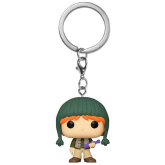 Купить Брелок Funko Pocket POP! Keychain: Harry Potter: Holiday: Ron 51205-PDQ