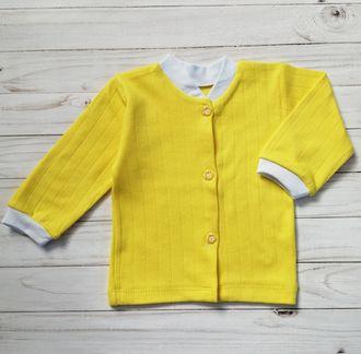 Кофточка ясельная (Артикул 1/025И) цвет желтый