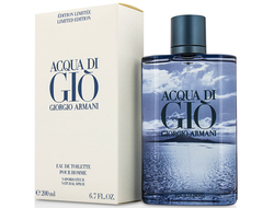 Armani Aqua Di Gio for Men Limited Edition Blue мужская туалетная вода