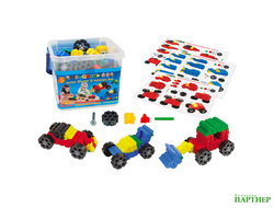 Конструктор Morphun Junior Starter 12 Vehicles Set «Машины», 150 деталей, 4+