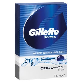 Лосьон после бритья Gillette Series Cool Wave, Свежий, 100 мл