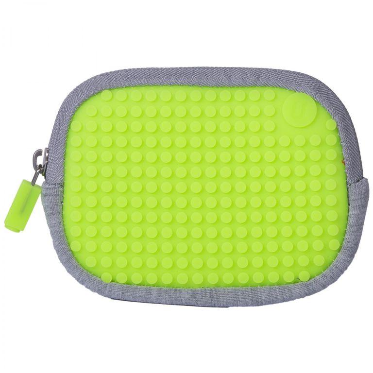 02d62a8de08b Маленькая пиксельная сумочка UPixel Cotton Pouch зеленый