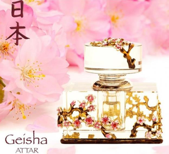масляные духи Geisha Attar / Гейша Аттар (6 мл) от Arabesque Perfumes