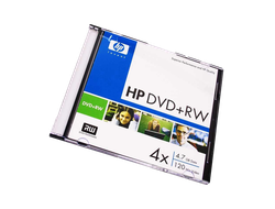 Диск HP DVD+RW 4.7Gb 4x 120 min video