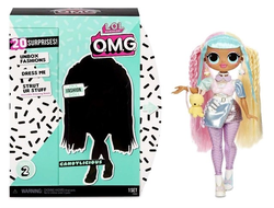 MGA Entertainment Кукла L.O.L. Surprise OMG Series 2 - Candylicious Fashion Doll с 20 сюрпризами, 565109
