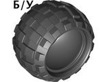 ! Б/У - Tire 43.2 x 28 S Balloon Small, Black (6579 / 657926) - Б/У