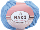 Nako Pure Wool Plus 1579 голубой