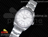 Oyster Perpetual 39 114300 White