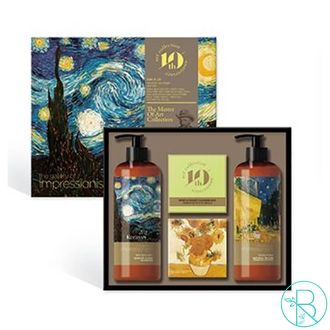 Подарочный набор Kerasys №31 Винсент Ван Гог The gallery of impressionism The master of Art Collection Gift Set