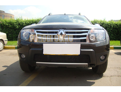 Защита радиатора Renault Duster 2011-2015 black