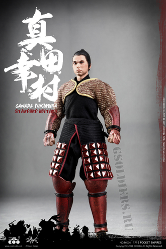 Самурай Санада Юкимура фигурка 1/12 PALM EMPIRES SANADA YUKIMURA EXCLUSIVE EDITION (PE005) COOMODEL