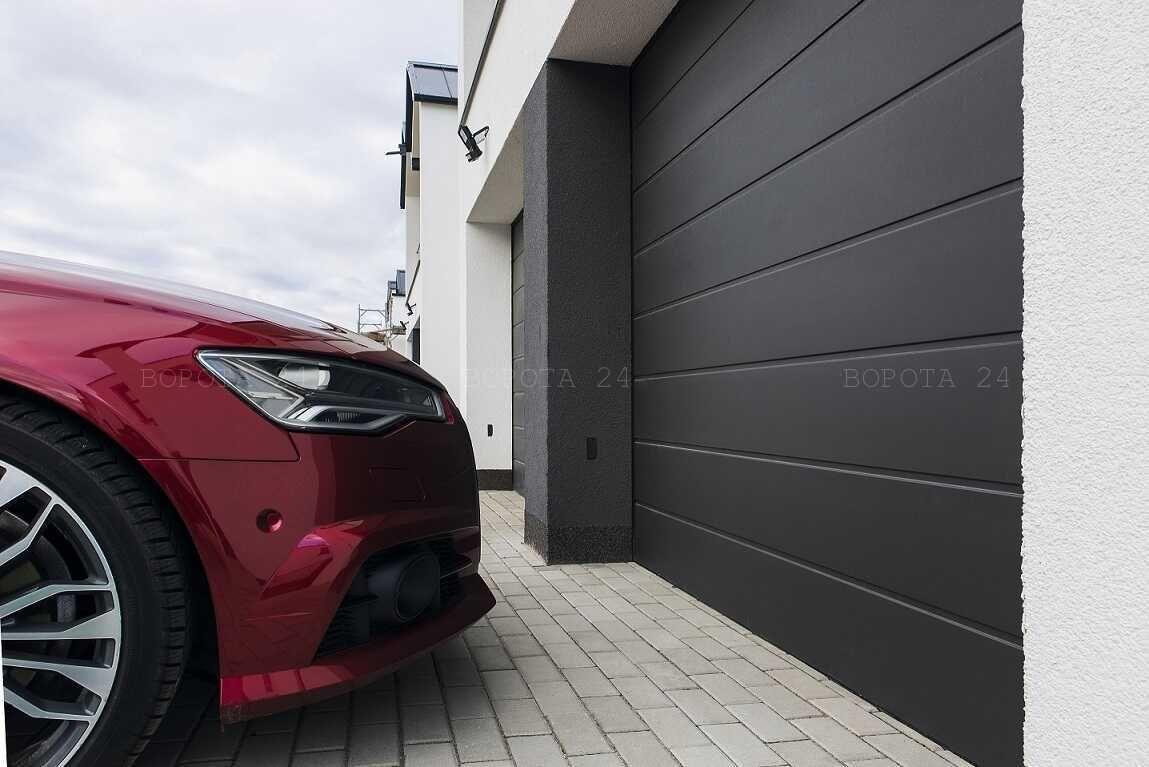 гаражные ворота из сэндвич-панелей - производство гаражных ворот