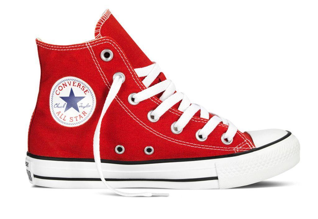 3fb059eb Кеды Converse All Stars красные высокие (36-44) Арт. 013