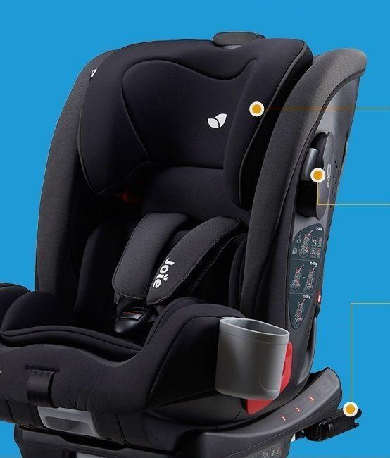 Joie Bold - универсальное кресло возрастной группы 1-2-3 с креплением ISOFIX