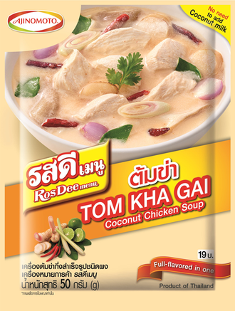 Tom Kha Gai Coconut chicken soup (RosDee) 50 g