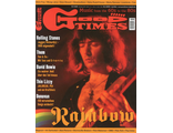 Good Times Magazine May 2016 Rainbow, Ritchie Blackmore Cover ИНОСТРАННЫЕ МУЗЫКАЛЬНЫЕ ЖУРНАЛЫ