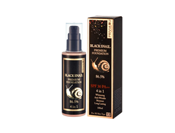 "Тональный крем Privia U""Black Snail Premium Foundation 86.5% SPF 30 PA++ 4 in 1""100 ml"