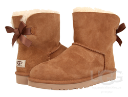UGG MINI BAILEY BOW - Мини-угги украшенные ленточками (от 229$)