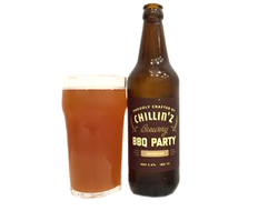 Пиво Chillinz BBQ Party Smoked Ale Копченый эль 5,4% 0,5л
