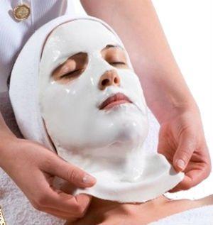 Альгинатная маска в салоне
