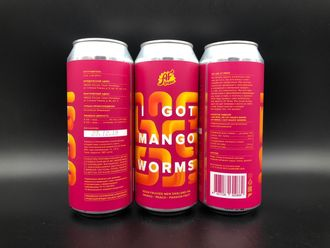 I Got Mango Worms IPA - Sour У Меня Есть Черви Манго Кислая ИПА с Манго 7% IBU 15 0,5л (180) AF Brew в банке