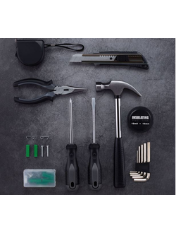 Набор инструментов Xiaomi Jiuxun tools home daily kit 12 в 1