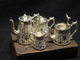A copy of the silver  tea service of 1860