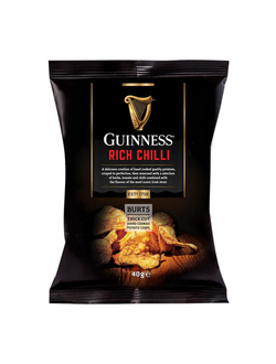Чипсы Guinness Rich Chili 42 гр.