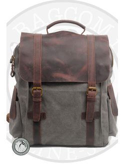Рюкзак Wild Bags Winter Pack Dark Grey с карманами