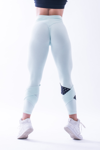 Леггинсы ASYMETRICAL 7/8 LEGGINGS 639 Мятные
