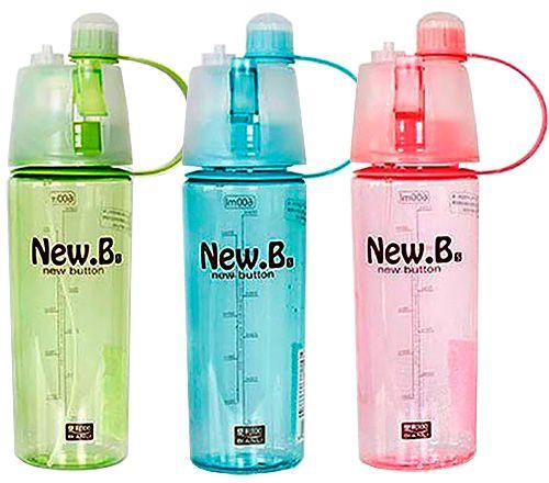 023a495af934 Спортивная бутылка New Button для воды с распылителем купить в Украине, Киев