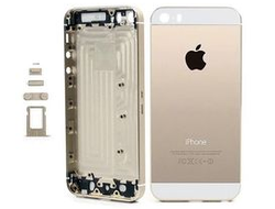 Корпус (задняя крышка) Apple iPhone 5S золотой купить в Калининграде