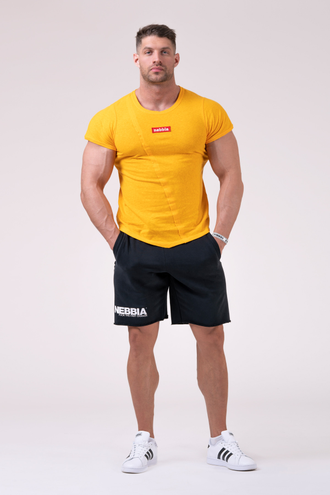 Футболка Red Label Muscle Back T-shirt 172 Оранжевая
