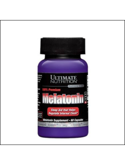 Мелатонин Ultimate Nutrition Melatonin 60 caps