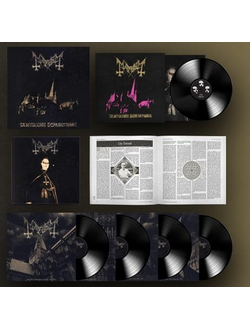 MAYHEM - DE MYSTERIIS DOM SATHANAS 25-TH ANNIVERSARY BOX SET