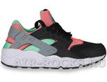 NIKE AIR HUARACHE Black/Hot Lava (Euro 36-40) HR-016