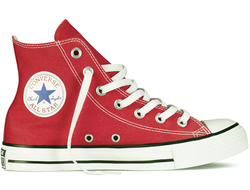 converse chuck taylor all star hi red 01