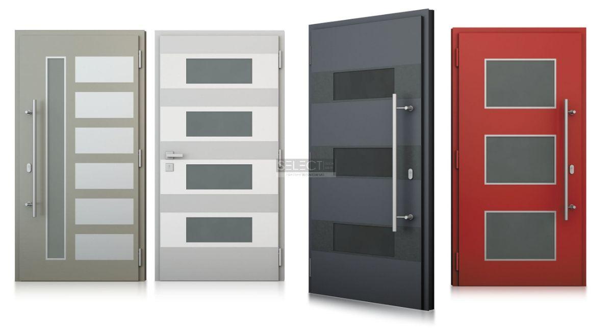 Фото красивых дверей в частный дом - купить алюминиевые наружные конструкции из Европы