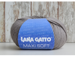 Lana Gatto Maxi Soft (100% меринос экстрафайн, 50г/90м) 260руб