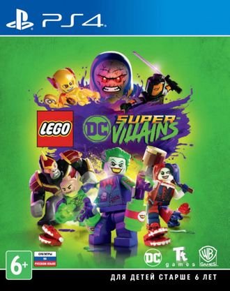 Игра для ps4 LEGO DC Super-Villains