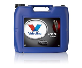 VALVOLINE GEAR OIL 75W-80  1л, 20л,  208л