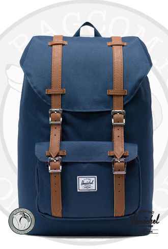 Темно-синий Herschel Little America Mid Volume