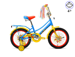 "FORWARD AZURE 16"" (Голубой) Kiddy-Bikes"